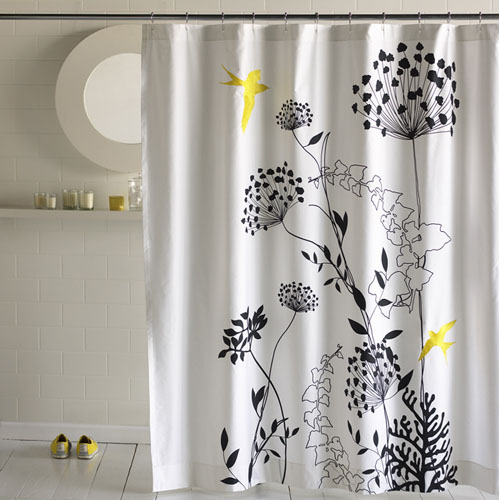 Bathroom plastic curtains