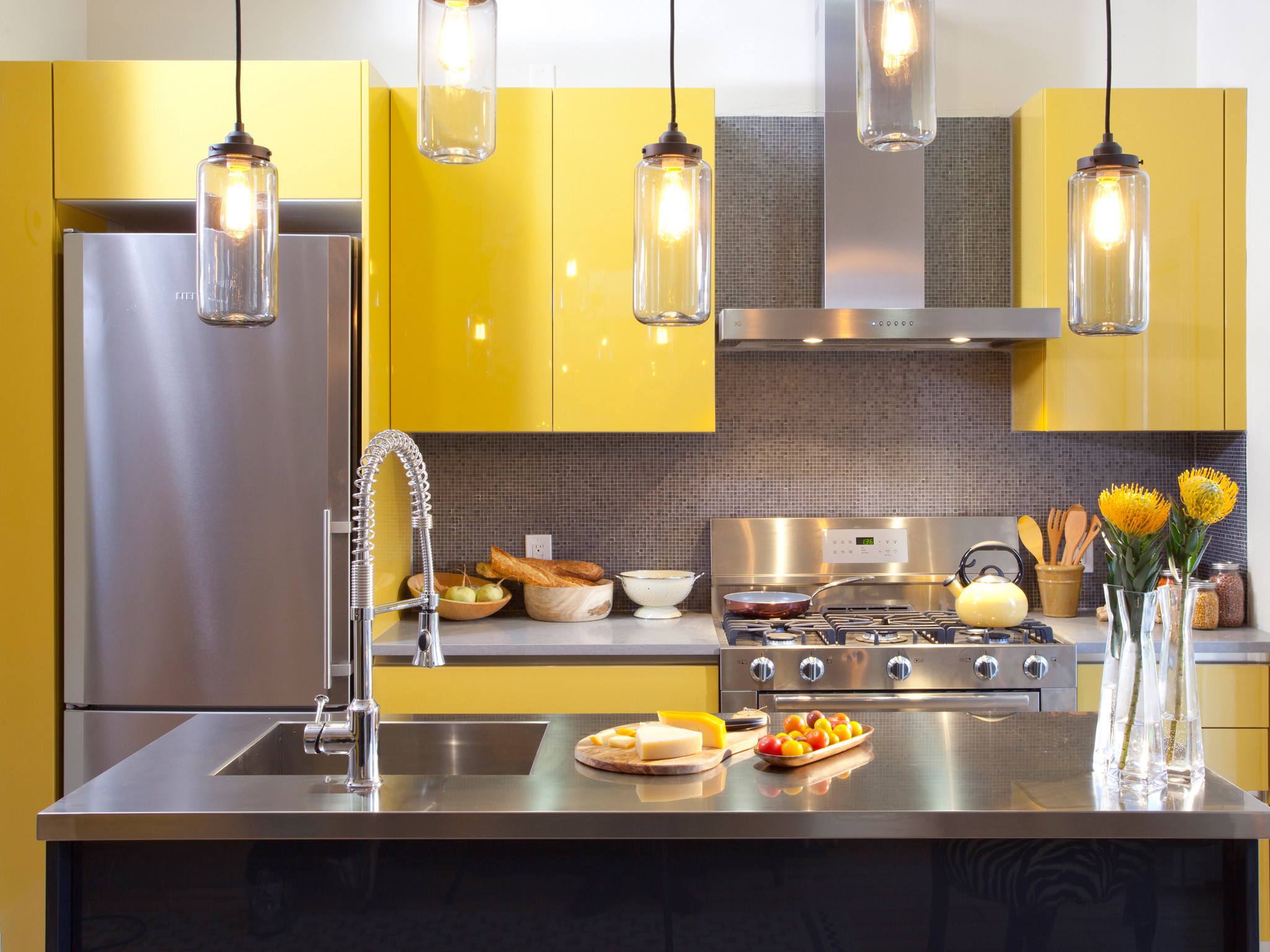 After photos of the Perrota Kitchen. As seen on HGTV's Kitchen Cousins.