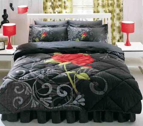 desenli uyku seti,modern uyku seti,