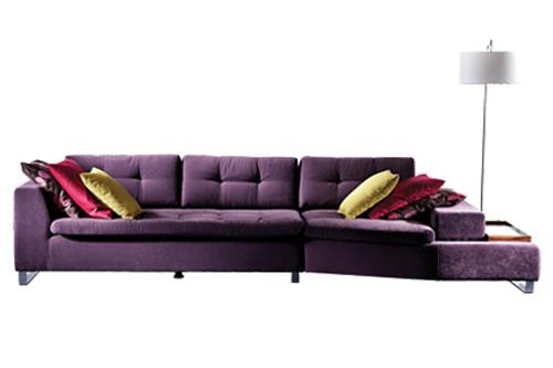renkli salon dizayn, modern koşe takımı