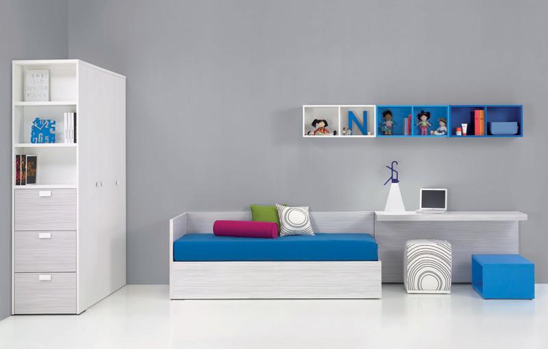 dekoratif oda, farklı gardrop modeli, beyaz gardrop