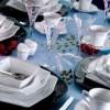 bernardo modern yemek takımı, kare yemek takımı