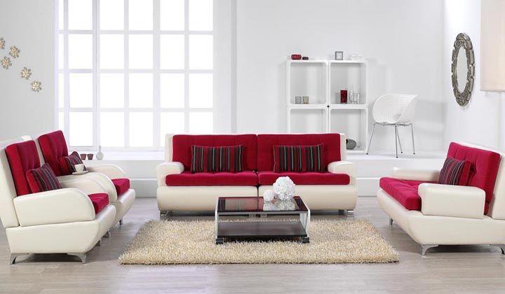 bellona kırmızı beyaz real koltuk modeli