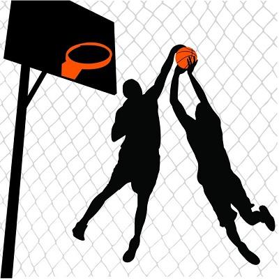 basketbol sticker, kırmızı top deseni, erkek çocuk odası dizayn