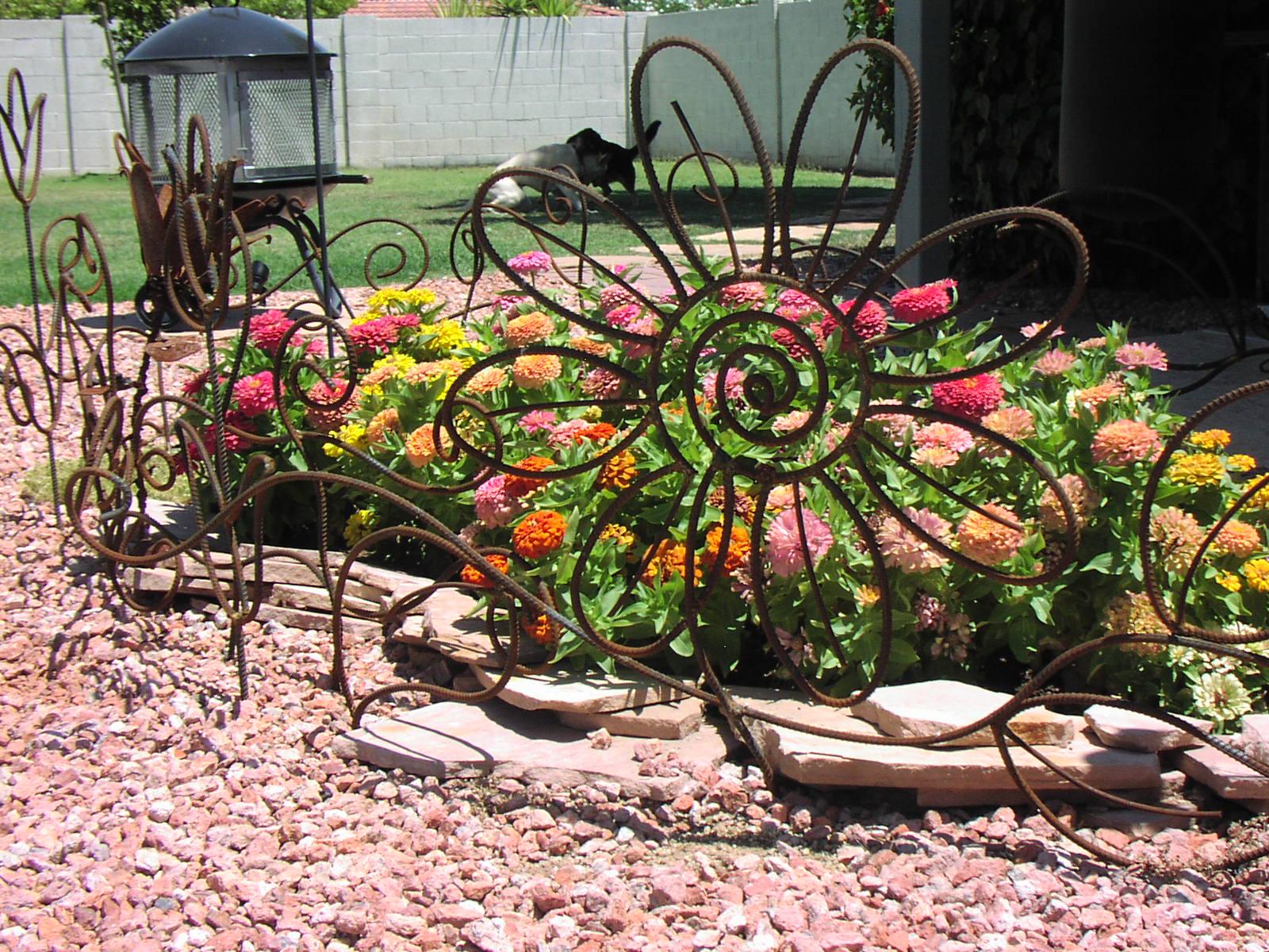 Demir- Metal Bahçe Çiti