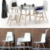 beyaz cafe sandalye tasarımı