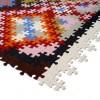 puzzle farklı kilim tasarımı