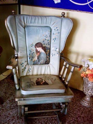 Sandalye boyama dizayn