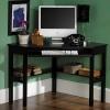 Siyah ofis masası modeli