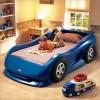 Mavi arabalı yatak modeli