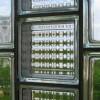 Şeffaf cam tuğla örneği