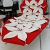 Kırmızı şezlong modeli